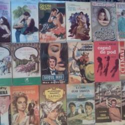 Vand carti de dragoste si diverse: Sandra Brown, Nora Roberts, Florence Barclay si altii (inclusiv autori romani)