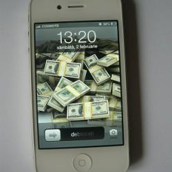 Vand iPhone 4S 16GB White(alb) ca NOU, NEVERLOCKED – Liber de retea