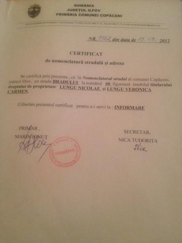 Vand Teren Intravilan Lotizat C-tii Destinatie Mixta in Copaceni Judetul Ilfov(Sud)